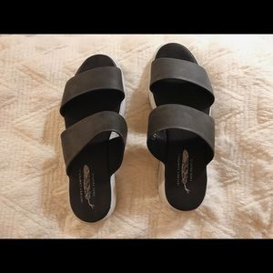 Free People/Jeffrey Campbell Black Sandals